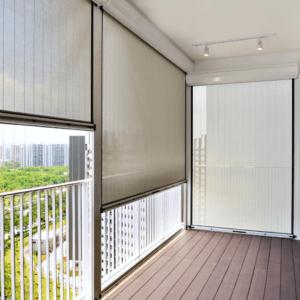 рулонні штори на балкон фото
