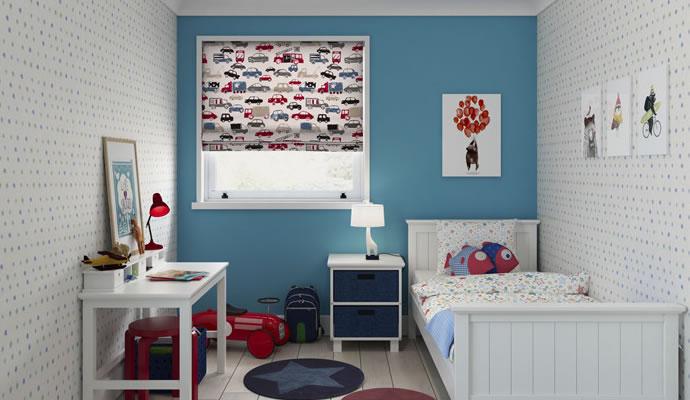 рулонные шторы в детскую комнату фото