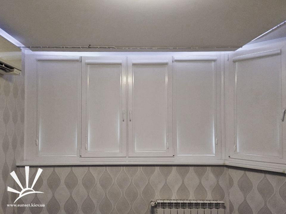 Рулонные шторы кассетные блэкаут